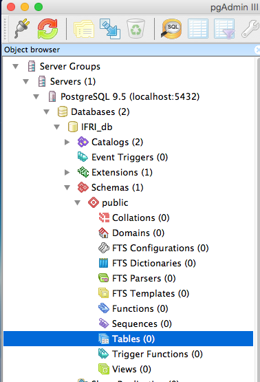 pgAdmin and PostgreSQL Exercise · Community Service with Web